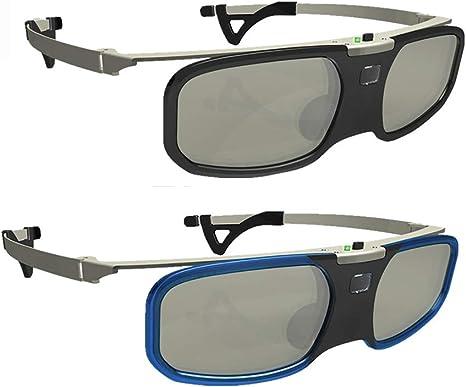 Gafas 3D para Películas De Televisión, Obturador Activo Gafas ...