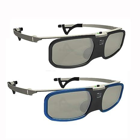 ZHL Gafas 3D para Películas De TV, Proyectores 3D DLP-Link ...