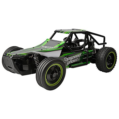 Gizmovine Remote Control RC Racing car - High Speed Green Buggy, 1/10 Scale - Fast, super control