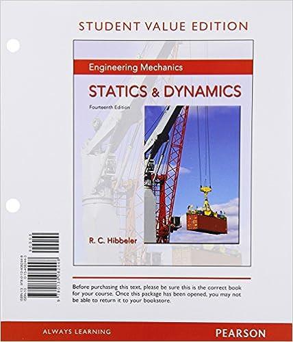 Solutions Manual for Engineering Mechanics Statics 14th ...