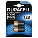 Duracell Ultra Photo DL123 3 V Lithiu...