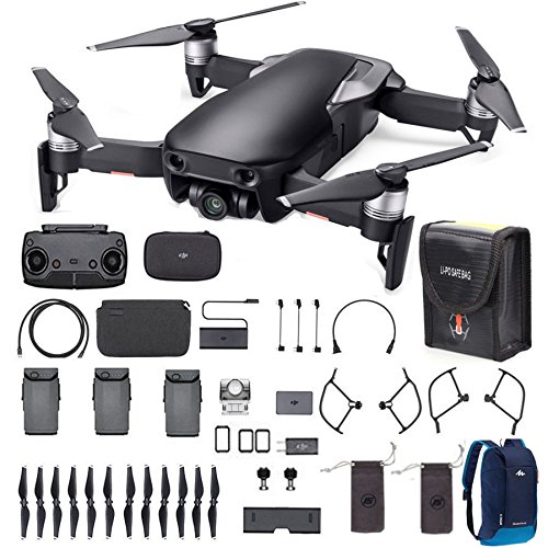 dji mavic air fly more combo 2018 version starter bundle agogo drone. Black Bedroom Furniture Sets. Home Design Ideas