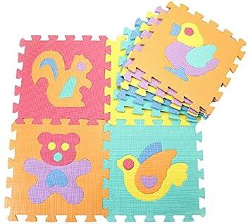 9 piezas Esteras de juego para bebé Alfombras de espuma ...