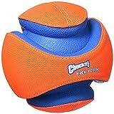 #6: Chuckit! Kick Fetch Ball Dog Toy Interactive Play 2 Sizes Orange/Blue