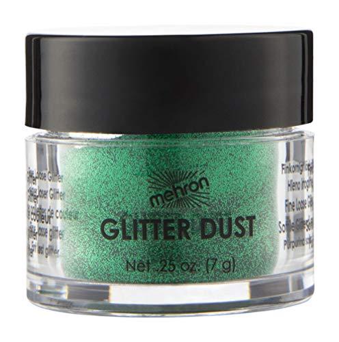 Mehron Makeup GlitterDust (.25 oz) (Shamrock Green)