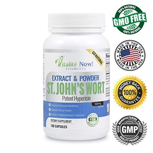 Bestselling St Johns Wort Herbal Supplements