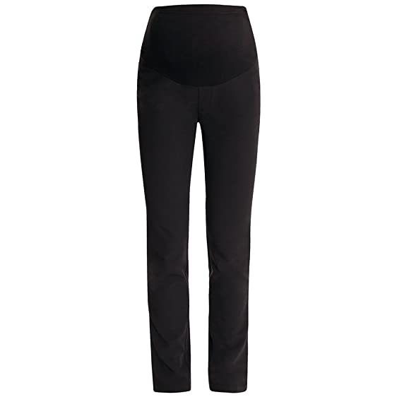 JOJO MAMAN BÉBÉ Black Tailored Straight Leg Maternity Pants