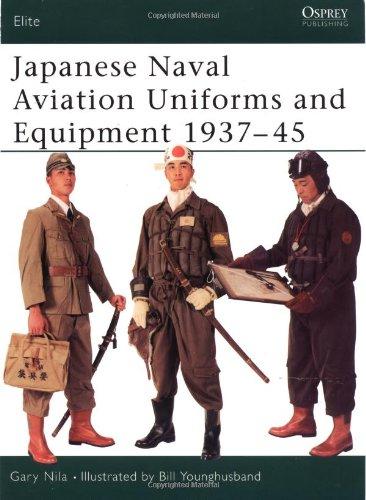 [Japanese Naval Aviation Uniforms and Equipment 1937–45 (Elite)] (Ww2 Navy Uniforms)