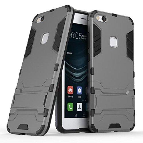 La caja del teléfono del plástico TPU para Huawei pata de cabra P10 Lite grey