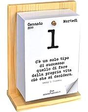 Calendario geniale 2019 con supporto