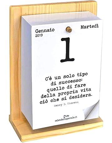 Calendario Solo Numeri.Calendari Da Muro Amazon It