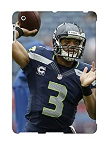 Defender Case For Ipad 2/3/4, 2013 Seale Seahawks Nfl Football Pattern, Nice Case For Lover's Gift