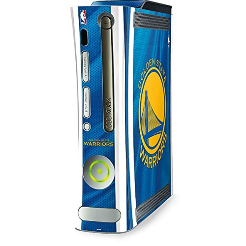 NBA Golden State Warriors Xbox 360 (Includes HDD) Skin - Golden State Warriors Jersey Vinyl Decal Skin For Your Xbox 360 (Includes HDD) by Skinit