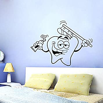 Home Decor Decals star wars wall decal with darth vader vinyl sticker boys bedroom wall decor lego star wars poster wall stickers home decor Wall Decals Tooth Vinyl Sticker Dental Decal Smiling Tooth Dental Clinics Home Decor Mural Art Design