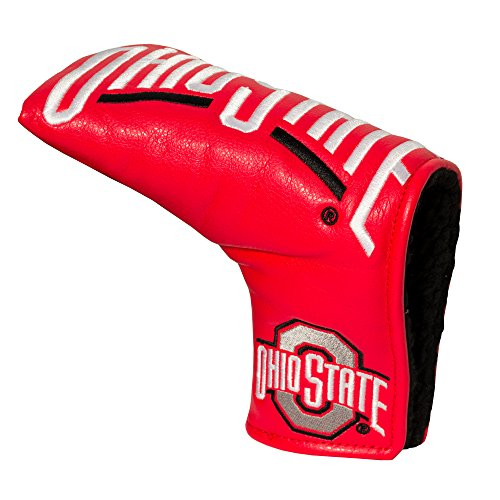 Team Golf NCAA Ohio State Buckeyes Golf Club Vintage Blade Putter Headcover, Form Fitting Design, Fits Scotty Cameron, Taylormade, Odyssey, Titleist, Ping, ()