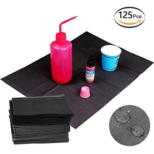 Dental Bibs Sheets 125pcs Disposable Tattoo Table Covers Clean Pad Underpad Hygiene Personal Medical Tattoo Bib Waterproof Tattoo TableCloth Tattoo Supply Sheet 13