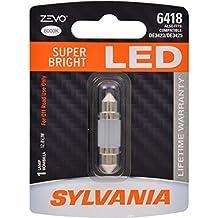 SYLVANIA ZEVO 6418 36mm Festoon White LED Bulb, (Contains 1 Bulb)