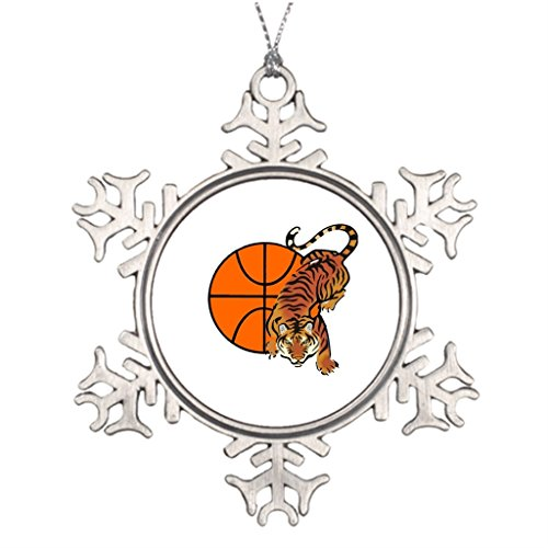 Tigers Tigers Basketball Pendant - Xixitly Tree Branch Decoration Tiger Basketball Unioneight The Snowflake Ornament Shop