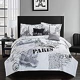Casa Paris 5 Piece Comforter Set, 5