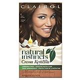 Clairol Natural Instincts Cream Keratina Hair Color Light Brown 6 Cappuccino Creme 1 Kit, 1-Count