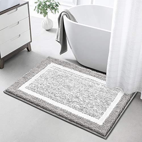 cuisine coton moyen rose 60 * 40CM entr/ée couloir tapis de cuisine /à s/échage rapide pour la salle de bain absorbe le fond de leau pour la chambre /à coucher Tapis de bain antid/érapant