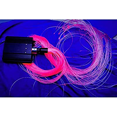 Fiber Optic Flexible Lights With Light Source