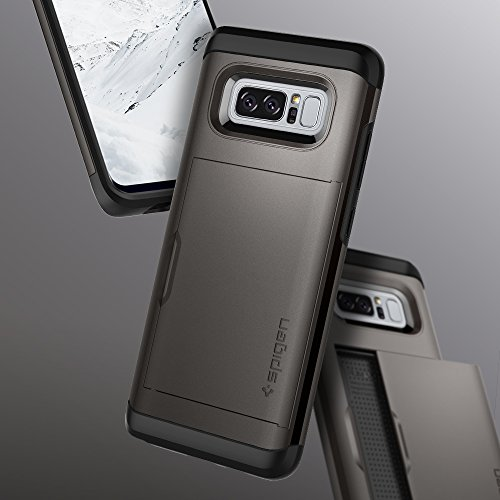Spigen Slim Armor CS Galaxy Note 8 Case with Slim Dual Layer Wallet Design and Card Slot Holder for Galaxy Note 8 (2017)