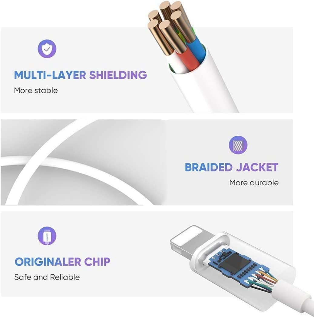 【2 Pack】 Headphone Jack Adapter for iPhone 11 Adapter 3.5mm Jack Converter Fast Dongle Aux Car Music Control Earphone Splitter Compatible for iPhone 11 8 Plus 7 Plus Adapter Connector XR//XS//X