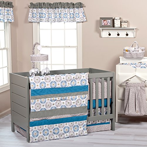 Trend Lab 3 Piece Monaco Crib Bedding Set
