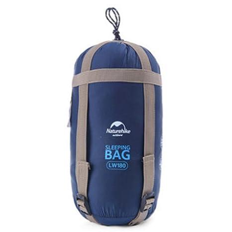 Seasaleshop Saco de Dormir Ligero Verano Acampada Ultra de Compresión Camping Ultraligero Compacto con Bolsa de