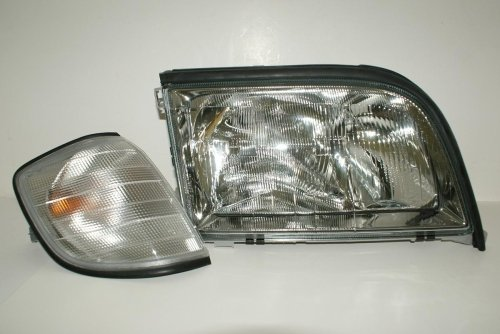 Mercedes S Class W140 1993-1995 HeadLight with Corner for sale  Delivered anywhere in USA