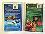 Lot of 2 Disney Cartoon Movies ~ Atlantis The Lost Empire VHS and The Lion King VHS