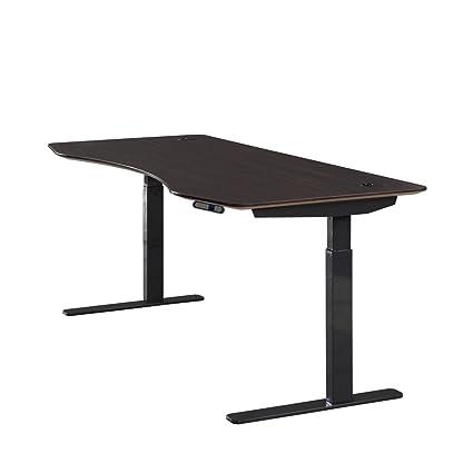 ApexDesk Elite Series 71u0026quot; W Electric Height Adjustable Standing Desk  (Memory Controller, 71u0026quot