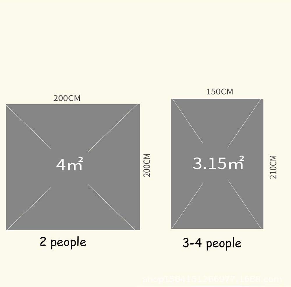 LOOCJ Tienda De Campaña para 2-4 Personas, Tienda Automática Tipo Resorte De Apertura Rápida. Adecuado para Acampar, Caminar, Escalar Y Viajar. naranja