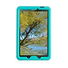 Bobj for Samsung Galaxy Tab E 9.6 (SM-T560, SM-T560NU), Tab E Nook 9.6 - BobjGear Protective Tablet Cover (Terrific Turquoise)