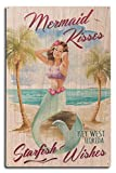 Best Lantern Press Wishes Signs - Key West, Florida - Mermaid Kisses and Starfish Review