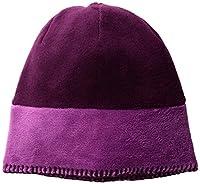 White Sierra Youth Cozy Beanie, Clover/Dark Purple, Large/X-Large