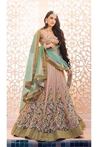 PCC Indian Women Designer Wedding PEACH Lehenga Choli SS-5080