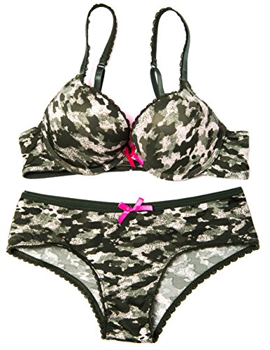 08a6634691 Caramel Cantina Camo Bra and Panty Set - Buy Online in Oman ...