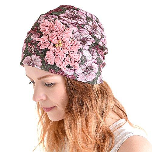 Floral Ladies Hat Charm - 5