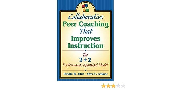 Amazon.com: Collaborative Peer Coaching That Improves ...