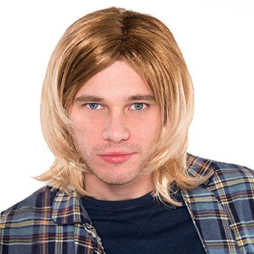 Grunge Rock Star Wig -