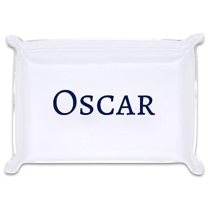 amazon com medium personalized acrylic catchall trinket tray home