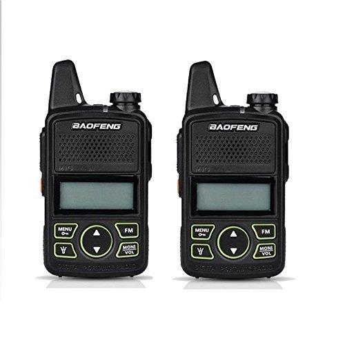 2PCS Original BAOFENG BF-T1 MINI Walkie Talkie UHF 400-470mhz Portable Two Way Radio Ham Radio Micro USB Transceiver