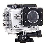 SJCAM SJ5000 Plus Ambarella A7LS75 16MP 1080P 60FPS WiFi Action Camera 1.5 Inch 170 Degrees Wide Angle Lens Waterproof Diving HD Camcorder Car DVR - Silver
