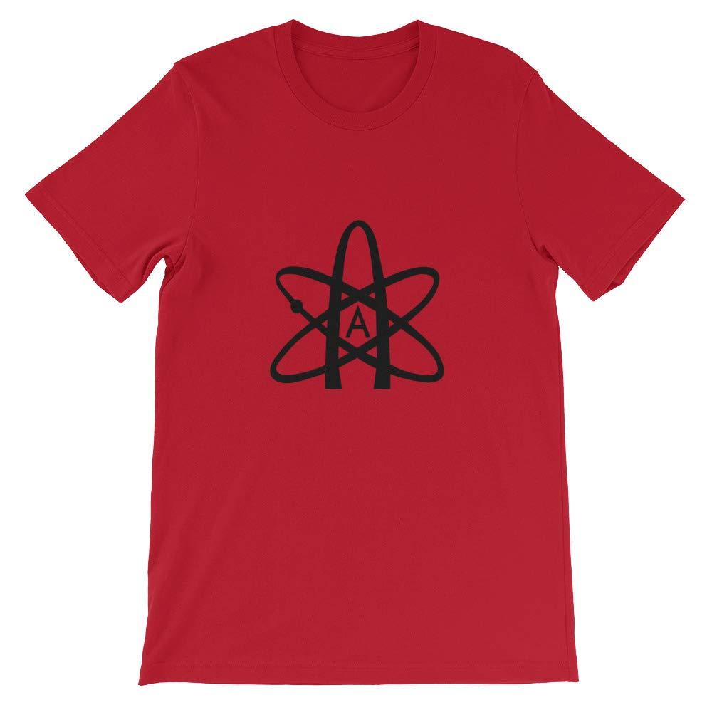 Mens Tshirt Atheist Symbol