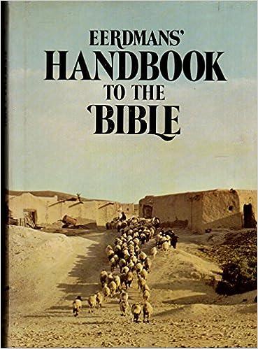 Eerdmans handbook to the bible david alexander patricia alexander eerdmans handbook to the bible david alexander patricia alexander 9780802834362 amazon books fandeluxe Gallery