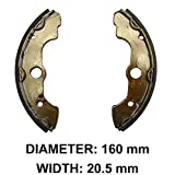 ArmorTech Brake Shoes Front Honda 2000 01 02 03 04 05 06 TRX350 TRX 350 Rancher