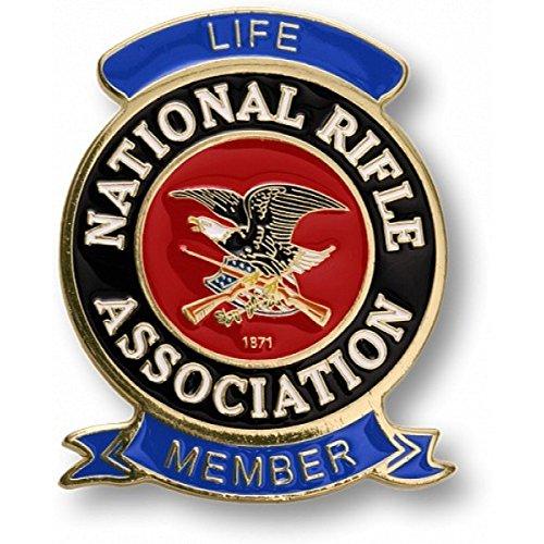 - 2pcs NRA v.2 Guns and Rifles 2nd Amendment HD Print award trophy 3