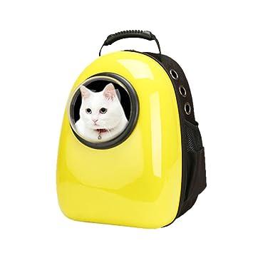 Mascotas Mochila Mochila Perros y Gatos transporte Mochila portátil Pet Backpack de Cool Anillo: Amazon.es: Productos para mascotas